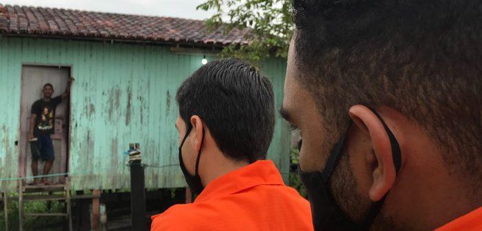 Defesa Civil monitora impactos causados por tempestade